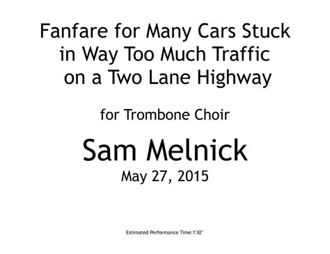 How Many Parts Are There To Trapped In The Closet by Fanfare For Many Cars Stuck In Way Much Traffic On A Two Highway
