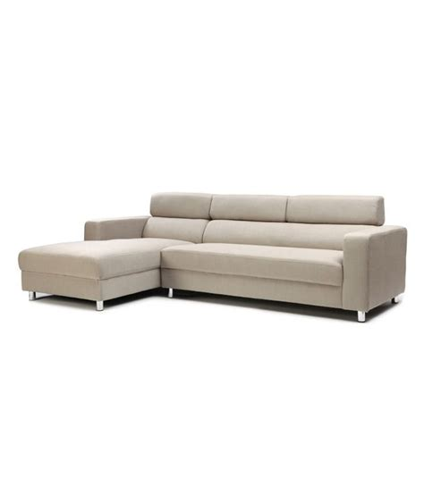 off white chaise lounge 2 seater sofa with right chaise lounge in off white buy