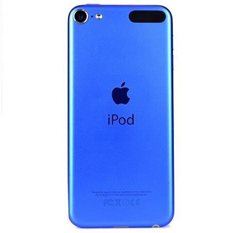 ipod blue refurbished and used hardware apple ipod touch 16gb blue 6th generation