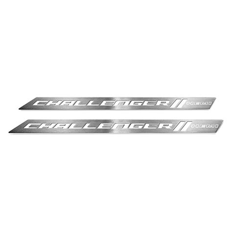 logo dodge challenger abd 174 dodge challenger 2016 brushed door sills with hemi logo