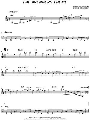 theme song avengers download digital sheet music of jianjun he for c instruments