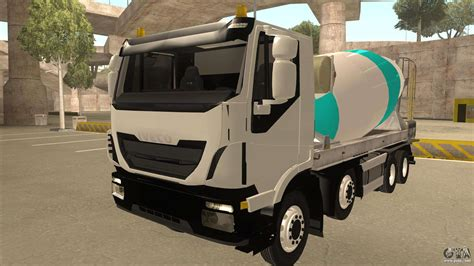 Auto Ohne B Säule by Hi Land Betonmischer Lkw Iveco F 252 R Gta San Andreas