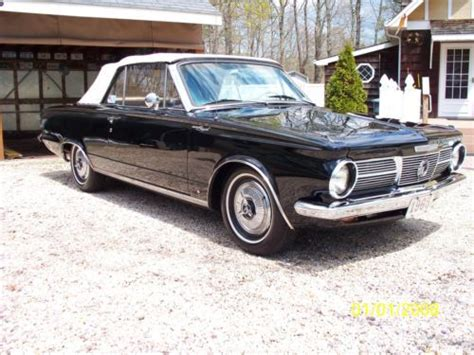 purchase   plymouth valiant signet convertible
