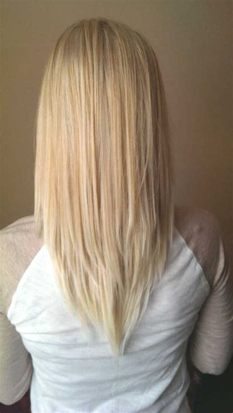layered vs shingled hair v cut hairstyle for medium length hair http www