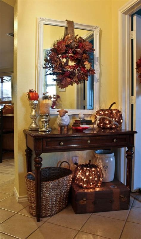 fall home decor pinterest entry way decorations for fall i like the idea of