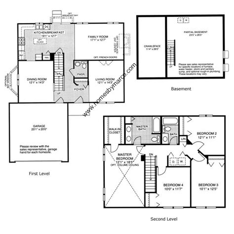 homes by marco floor plans lakewood ridge subdivision in bolingbrook illinois homes