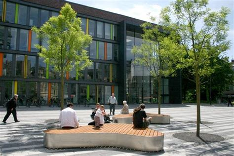 Landscape Forms Towne Square Square Gets Modern Design 183 Landscape Architects