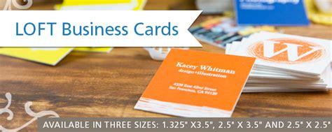 Loft Business Cards