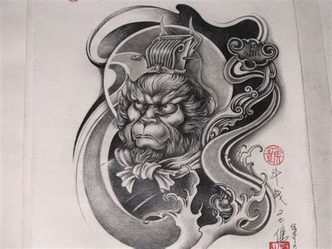 chinese monkey tattoo designs monkey images designs