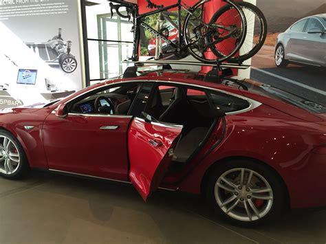 Tesla Bike Rack Tesla S Future View Where Bike Racks Blend Into