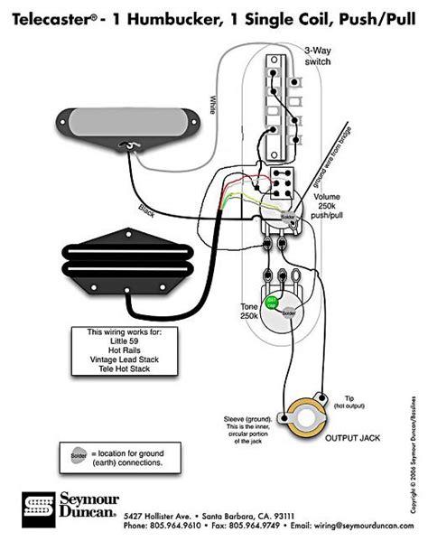 sd s tele 1 humbucker 1 single coil push pull diagram confusion