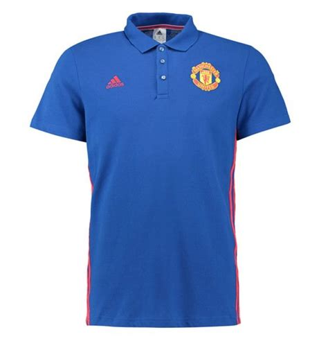 Polo Shirt Manchester United 036 2016 2017 utd adidas 3s polo shirt royal blue for only c 58 17 at merchandisingplaza ca