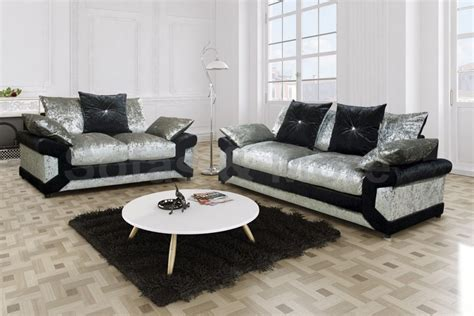 3 2 sofa set louisiana crushed velvet 3 2 sofa set fabric sofas