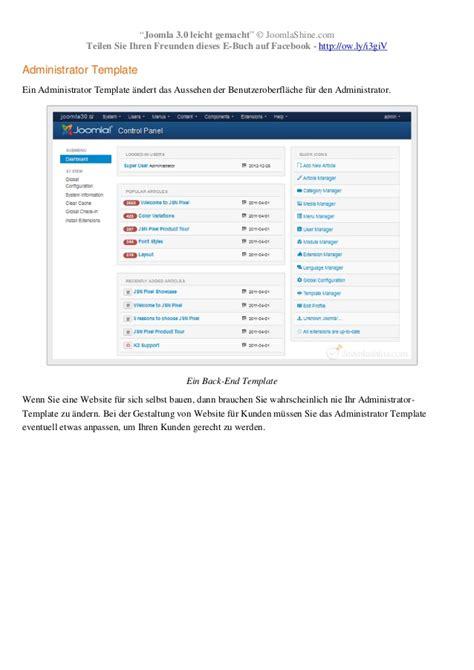joomla templates kostenlos 3 joomla 3 0 leicht gemacht kostenlos buch