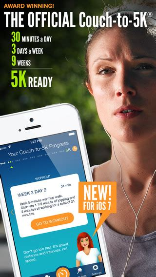 couch to 5k iphone couch to 5k 174 running app training coach and gps tracker
