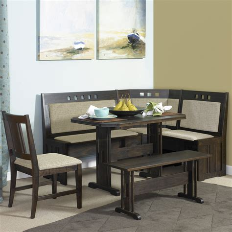 kitchen corner nook set breakfast nook kitchen table sets home design ideas
