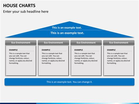 house chart template powerpoint house chart sketchbubble