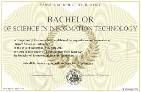 bachelor of science in information technology applied technology