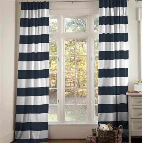 And White Curtain Panels Navy And White Curtain Panels Home Design Ideas