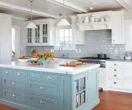 sensational colorful kitchen with subway tile backsplash