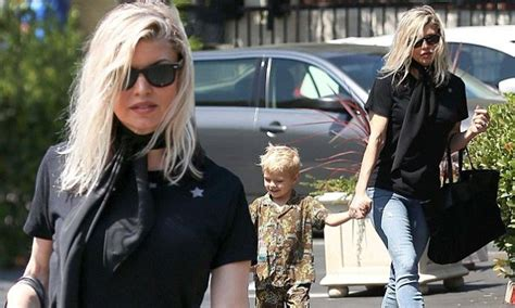 Fergie And Church Do It Right by Fergie Takes Axl Church In Black Top And