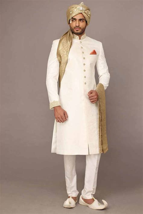 Groom wedding sherwani designs for barat 14 ? FashionEven
