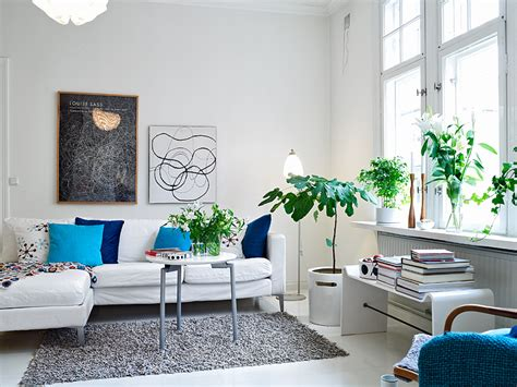 room with plants a scandinavian beauty