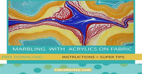 acrylic paint in fabric marbling with acrylic paint on fabric clara nartey