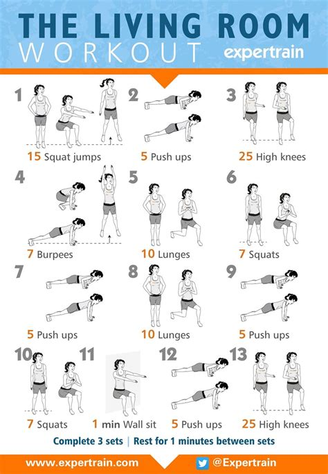 Living Room Bodyweight Workout The Living Room Workout