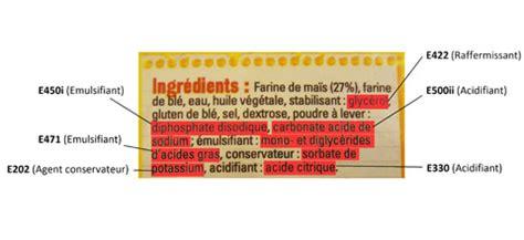 alimenti contenenti solfiti les additifs alimentaires dangers alimentaires
