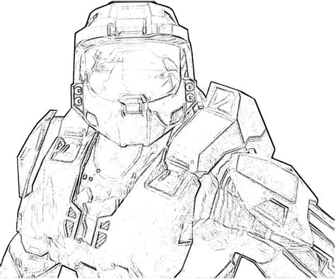 Halo 6 Coloring Pages by Free Coloring Pages Of Halo 4 Odst