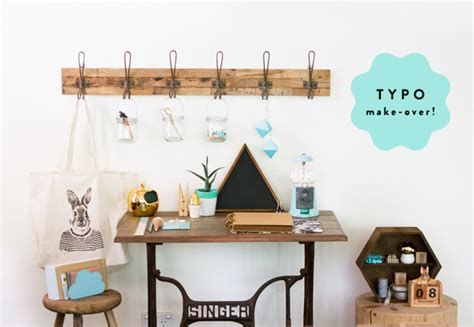 typo home decor eat drink chic