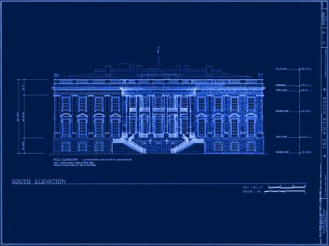 white house blueprints white house museum