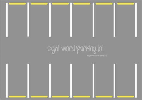 car park template search results for printable parking lot template
