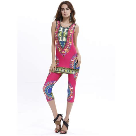 african print two piece outfits for women women summer 2 piece outfits bodycon dashiki top shirt and