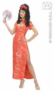 Carnival costumes china girl red fancy dress
