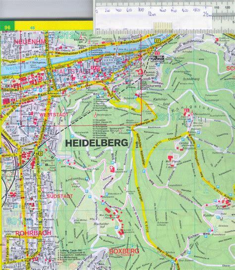 map heidelberg germany map heidelberg germany