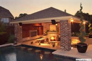 Outdoor room with swim up bar heavenly homes