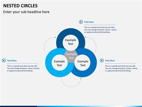 what is a circle diagram nested circle diagram powerpoint sketchbubble