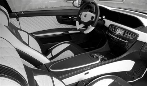 White And Black Car Interior by Mercedes Cars News Cl65 Amg Grey