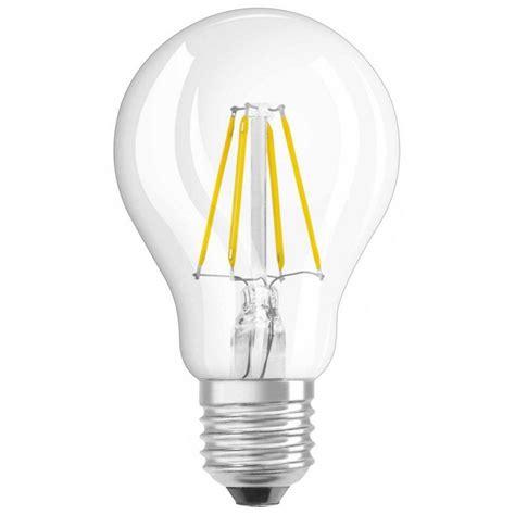 Osram Led Light Bulbs Osram 4 Watt Es E27mm Clear Gls Household Led Light Bulb