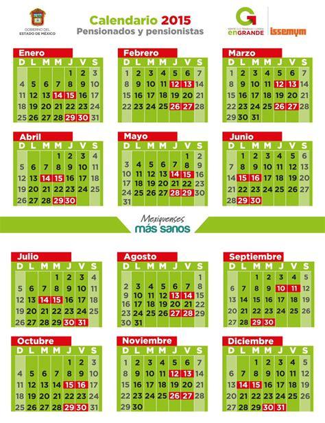 calendario de pago a pensionados de issemym 2015 issemym on twitter quot jgsiles te enviamos el calendario