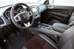 Interior Of Dodge Durango 2011 Dodge Durango Review Specification