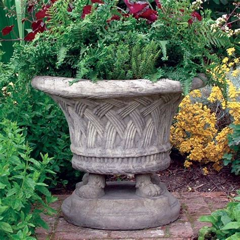 Large Patio Pots Large Weave Pot Garden Pots