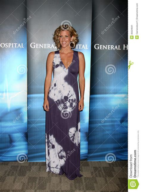 laura wright photos photos disney abc television group s laura wright editorial photo image 35524641