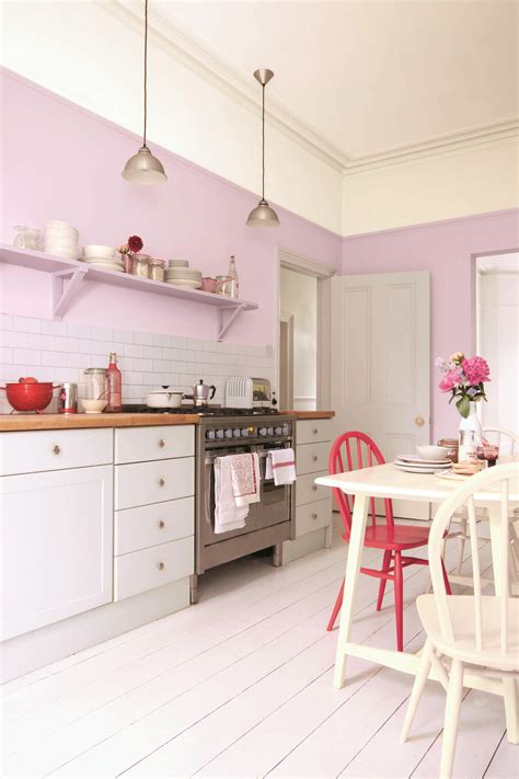 Kitchen Paint Lilac New Paint Colours From Sanderson Kitchen Sourcebook