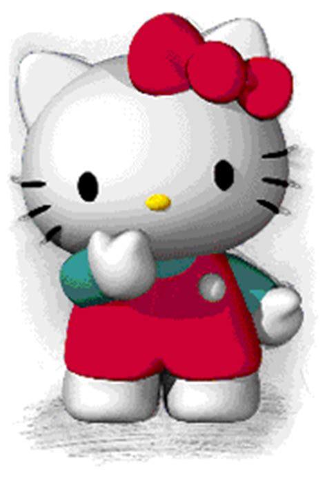 imagenes de hello kitty moviendose gatito gifs animados