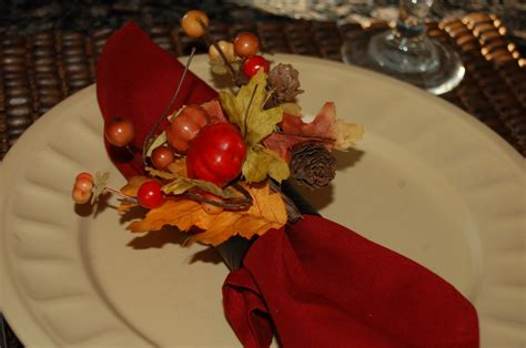 home made thanksgiving decorations table decorating ideas