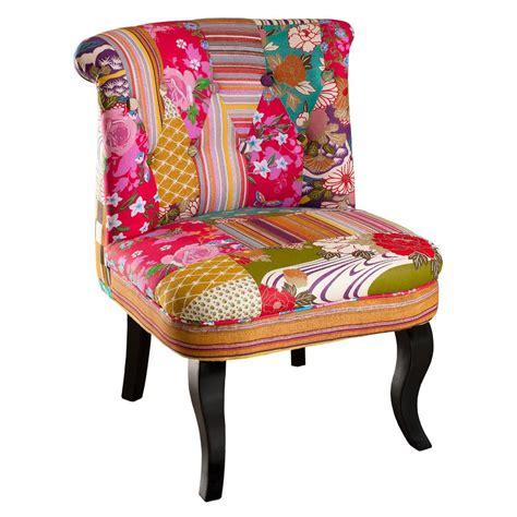 fauteuil de couleur fauteuil crapaud en tissu couleur boh 232 me 58x63xh75 cm