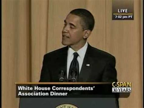 white house correspondents dinner youtube c span president obama at the 2009 white house